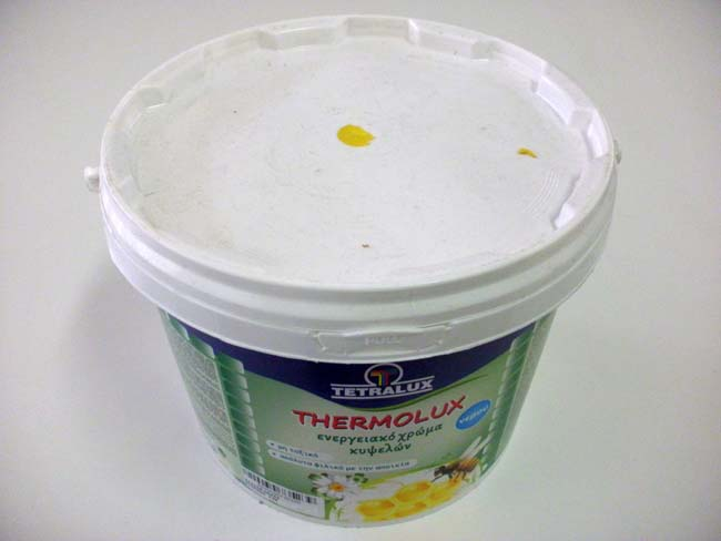 Thermolux χρώμα νερού 3 κιλών